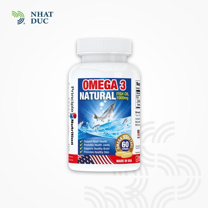 Omega 3 Natural Fish Oil 1000mg